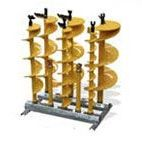 Auger Stand to display augers in an organised and professional manner