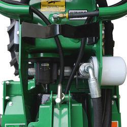 Lifting hook and hydraulic pump