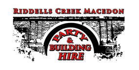 Riddells Creek Macedon Party and Equipment Hire