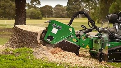SG30TRX Track Stump Grinder