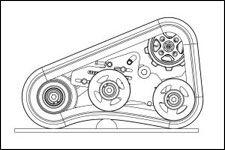 ST1624 Mini Track Trencher