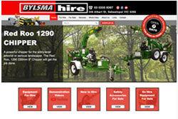 Bylsma Hire Website