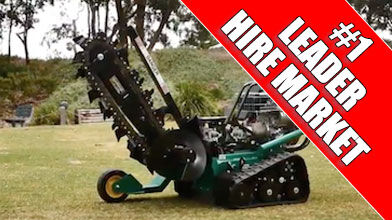 Red Roo Heavy Duty HT1624 Mini Track Trencher
