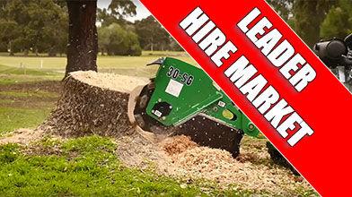 SG30TRX Stump Grinder a market leader in the Hire and Rental market
