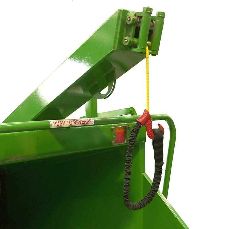 2015 Commercial wood chipper winch
