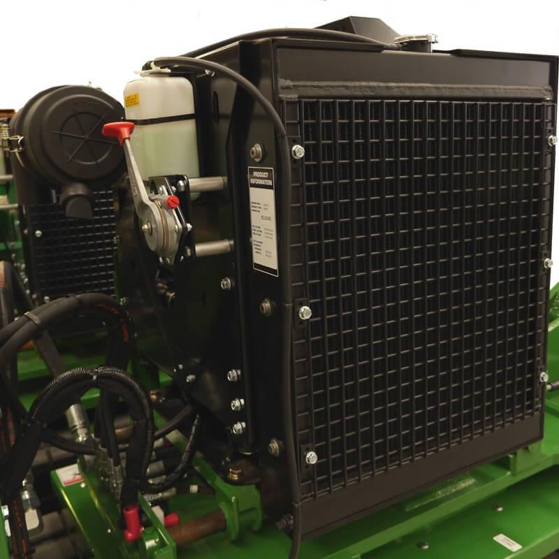 65HP 49KW Kubota Turbo Diesel Liquid Cooled