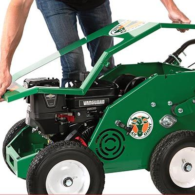 Billy Goat Aerator 1801 -One Piece Lift Off Removable Cover