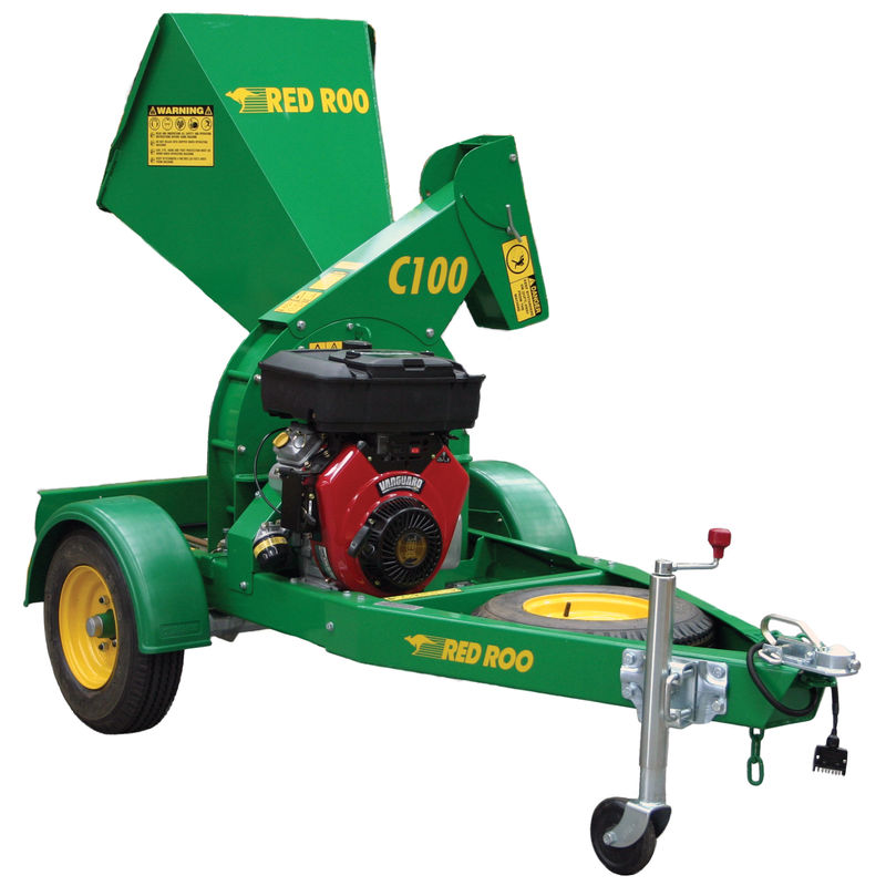 C100 Wood Chipper | Red Roo Sales & Service