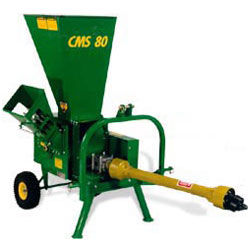 CMS80P Chipper/Mulcher/Shredder