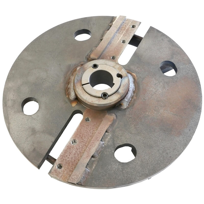CMS80 Chipper Disc Chipper disc to suit CMS80 including taperlock bushing
