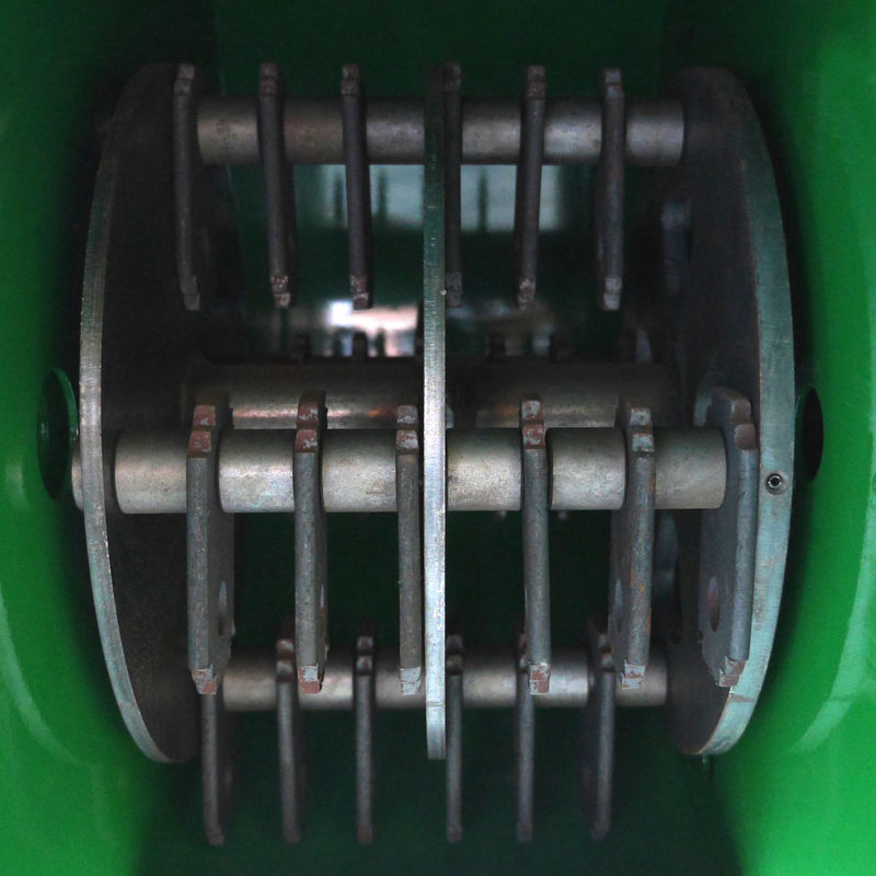 CMS80 Hammer Mill inside machine