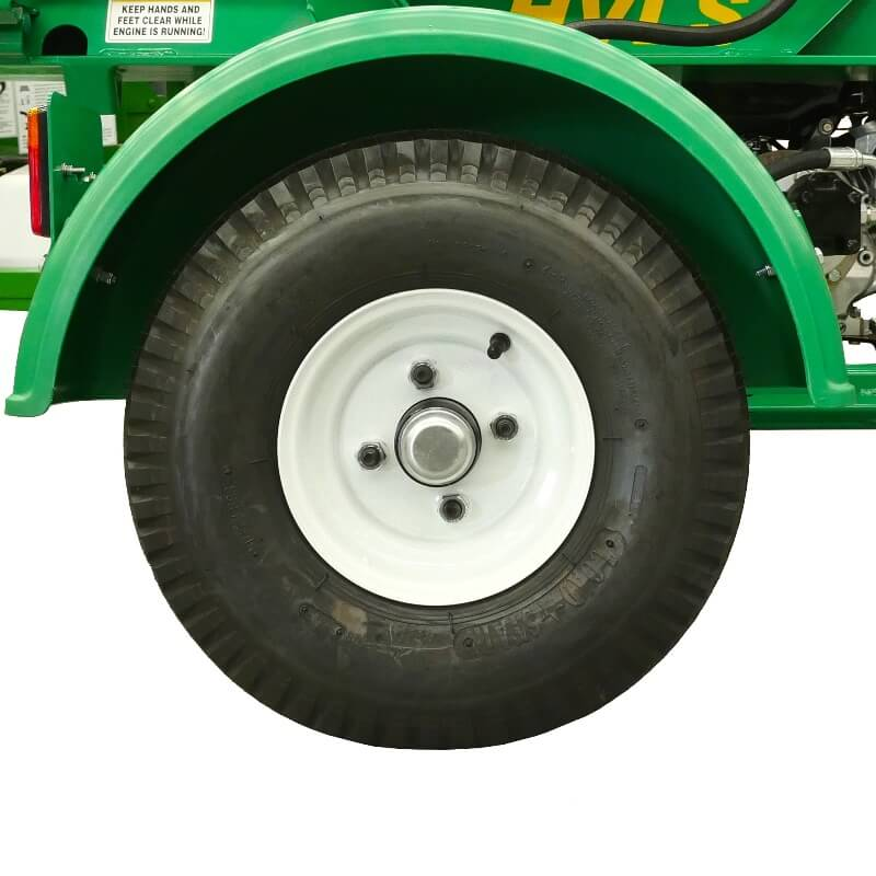 HVLS wood splitter wheels