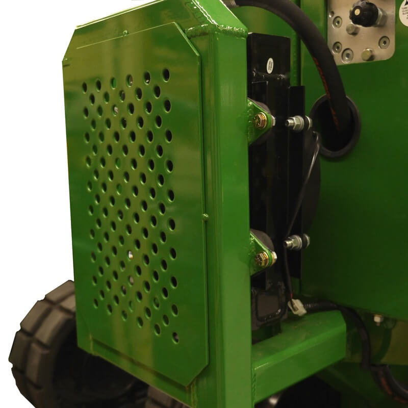 Hydraulic oil Cooler with Heavy duty guard and Thermo Fan