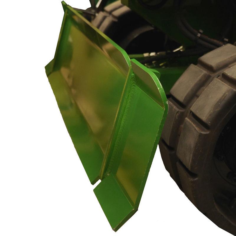 Optional Hydraulic Back Blade