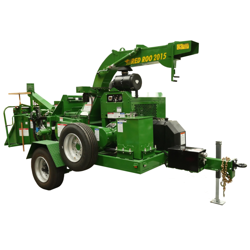 Red Roo 2015 Commercial Wood Chippers