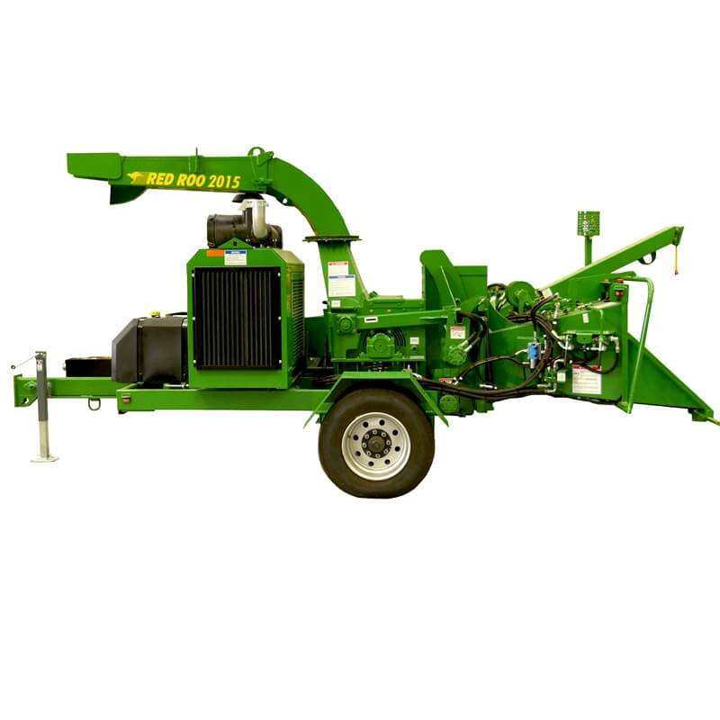 Red Roo 2015 Commercial wood chipper