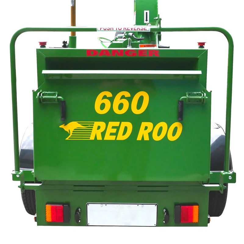 Red Roo 660 rear view