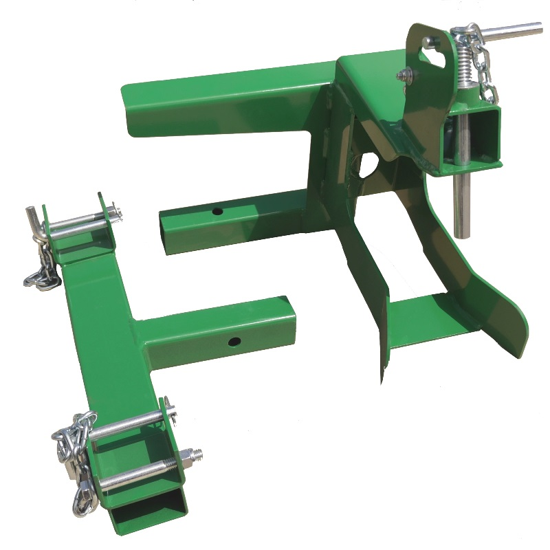 Rotary Hoe and trencher mounting brackets