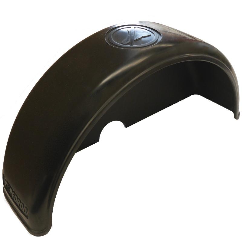 Rotomolded Guard   Black 200mm 8