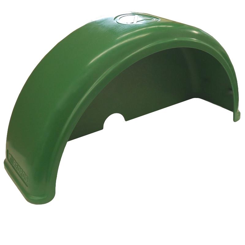 Rotomolded Guard   Green 250mm 10