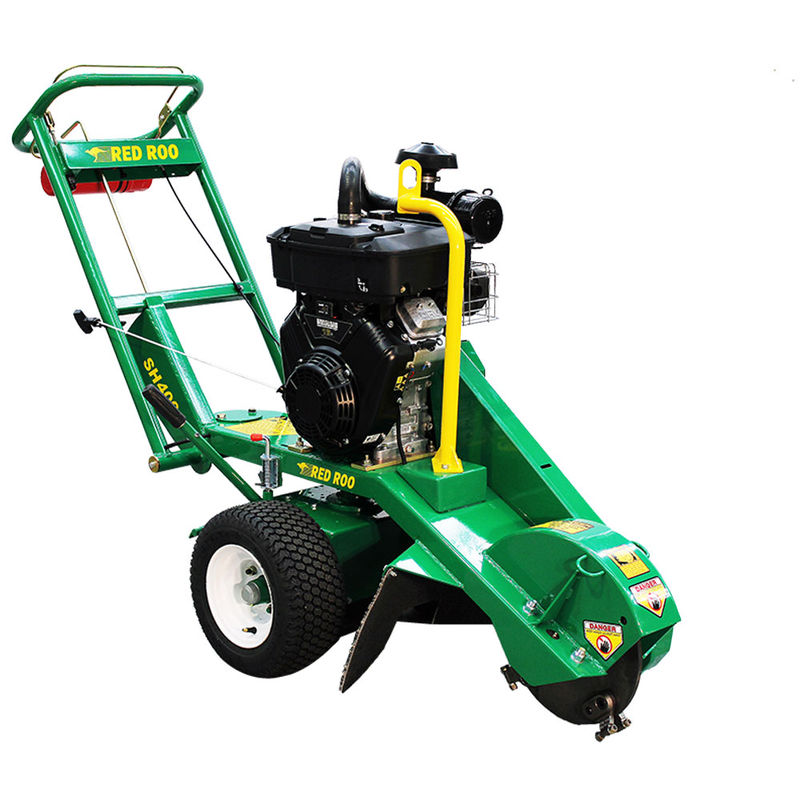 SH400 Pivot Over Center Stump Grinder