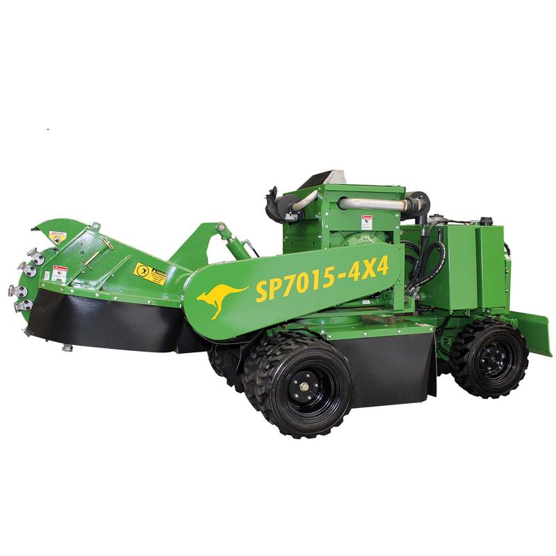 SP7015 Stump Grinder Self Propelled 4WD
