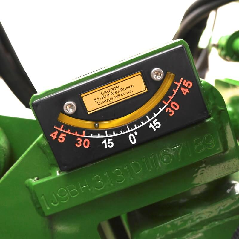 Warning gauge for SP5014TRX Stump Grinder