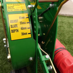 TC350 Turf Cutter Blade Adjust Depth