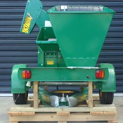 C100 Wood Chipper Rear View Palletised
