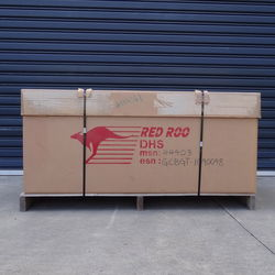 Shipping Dimensions 650mm X 1450mm X 750mm Weight 130kgs Does not include augers
