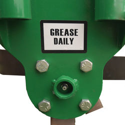 Easy accessible grease points