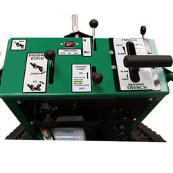 HT1624TK Hydraulic Trencher Control Panel