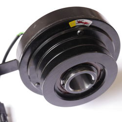 Heavy Duty Electromagnetic Clutch Actuates Grinding Disc