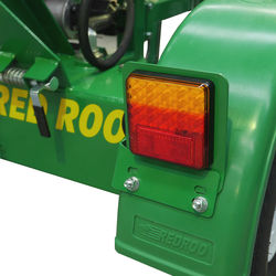 LED tail lights, this unit is towable on Australian roads.