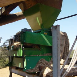 MS50 Resizing Chips For Playground Mulch
