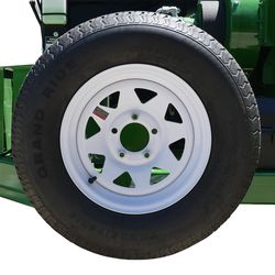 Red Roo 1260 150mm spare wheel