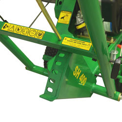 Red Roo SG400 Stump Grinder control height adjust