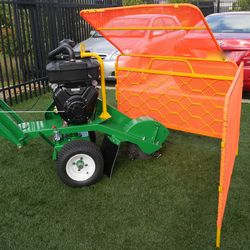 The Stump Guard is a portable guard used for protecting things surrounding the work zone