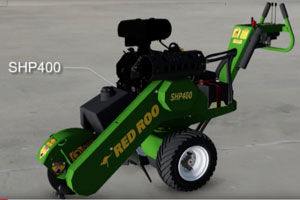 SHP400 Pivot Center Stump Grinder