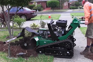 Heavy Duty Track Trencher