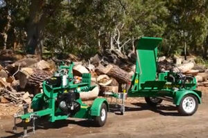Hire a Red Roo log Splitter