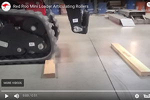Mini Loader Articulated Rollers