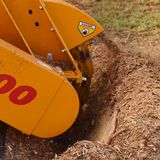 Stump Removal Land Clearing Razor Cutting System