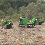 Maroondah Project Watch Three Wireless Controlled Stumpgrinders At Work In A Environmentally Sensitive Area