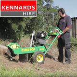 Kennards Hire - Operating a Stump Grinder